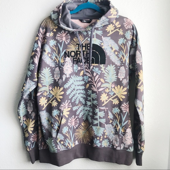 083737b79 NWT The North Face Floral Hoodie NWT